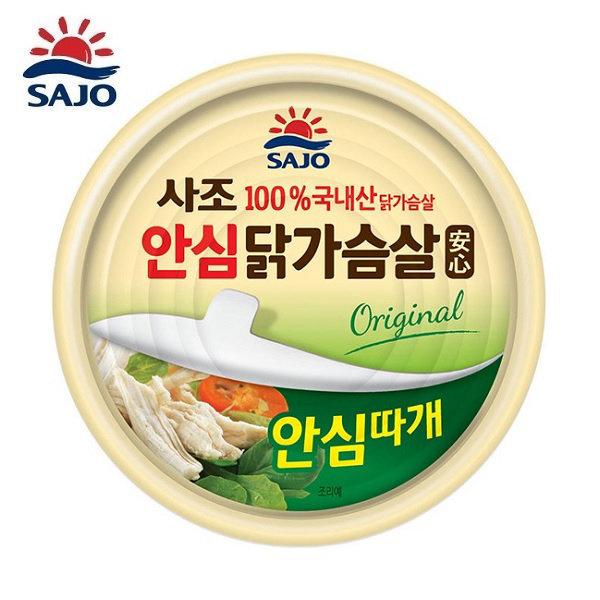 사조 안심 닭가슴살 오리지널 135g 1개 /안심따개 상품이미지