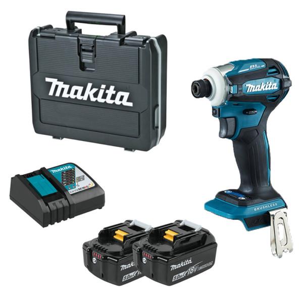 마끼다/DTD171RTJ/충전 임팩트 드라이버/5.0Ah/풀세트 상품이미지