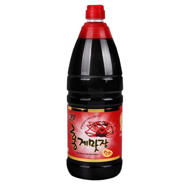 홍일식품 홍게맛장 골드1.8L 홍게간장 홍게맛 액젓 상품이미지