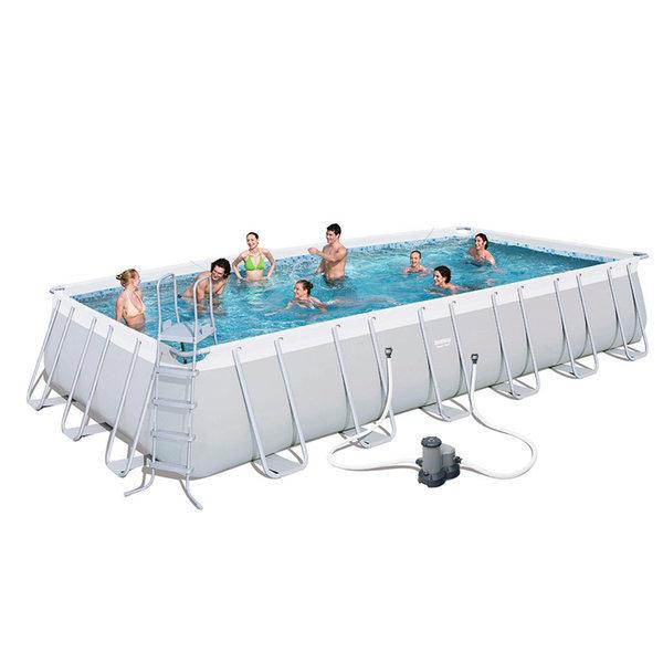 (56474)고급형 파이프 사각수영장(732x366x132cm) 상품이미지