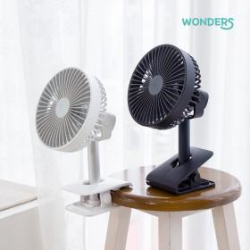 브리즈킹 WF70 휴대용 미니 무선 선풍기 네이비/3+1