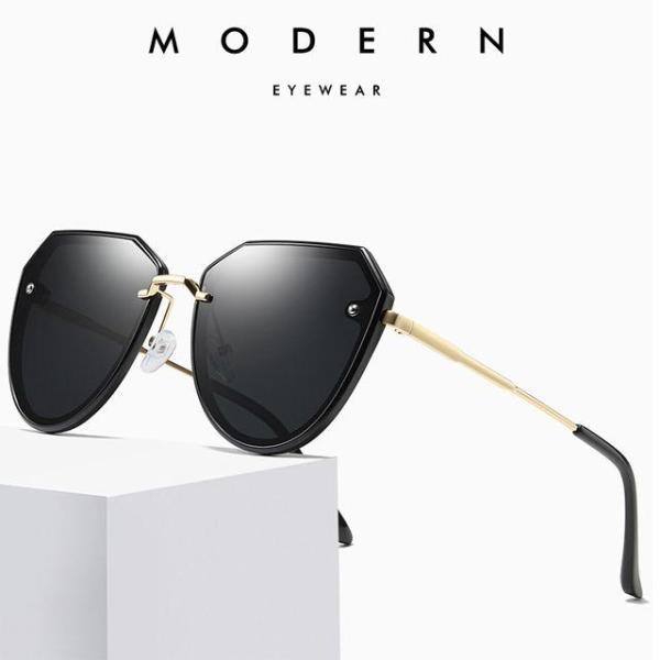 여성 미러 선글라스 편광 자외선차단 여자 럭셔리 상품이미지