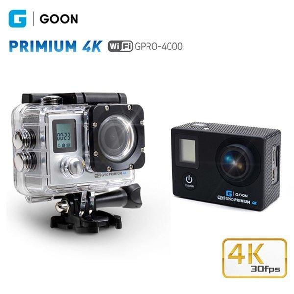 GPRO-4000 프리미엄4K액션캠 블랙 16기가메모리 제공 상품이미지