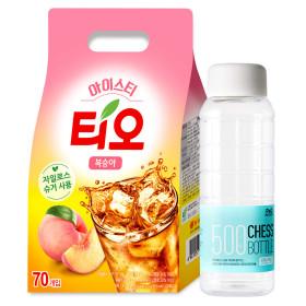 티오 아이스티 복숭아 70T + 3Tx2(6T증정)