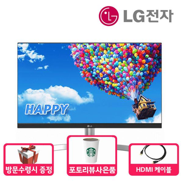 LG전자 24ML600SW 60cm 모니터 화이트 슬림베젤 /M 상품이미지