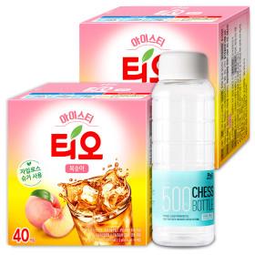 티오 아이스티 복숭아 40T+40T /에이드/아이스음료