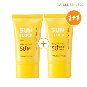 Natural Public 1 + 1 California Aloe Daily Sun Cream / Sun Block