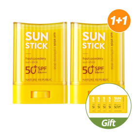 Natural Public 1 + 1 California Aloe Song Sun Stick / Sun Cream / NO Sticky