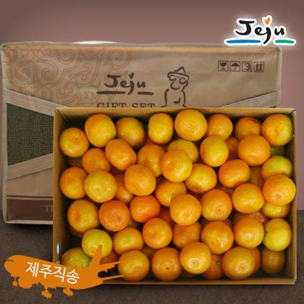 (올찬농산)  올찬농산  제주 하우스감귤 선물세트(중과)10kg 5-7번과 (81-120과 내외) / 제주직송 상품이미지
