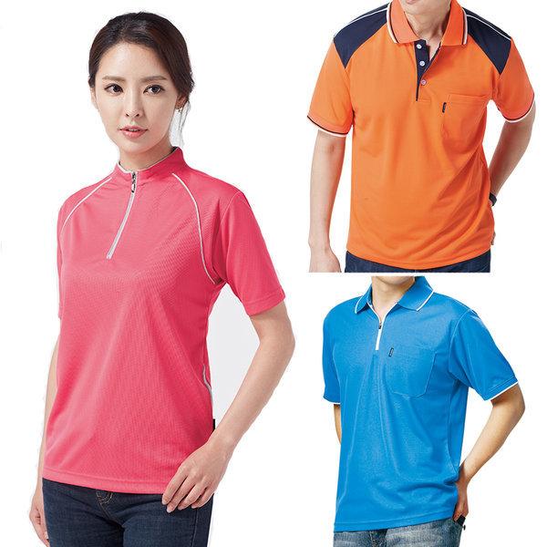 쿨론티셔츠 골프복 테니스복 사무복 카라티 라운드티 상품이미지