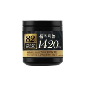 드림카카오 82%  GABA 86g X 6개