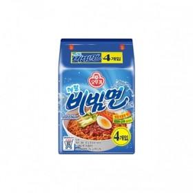 오뚜기)메밀 비빔면 멀티 130G*4
