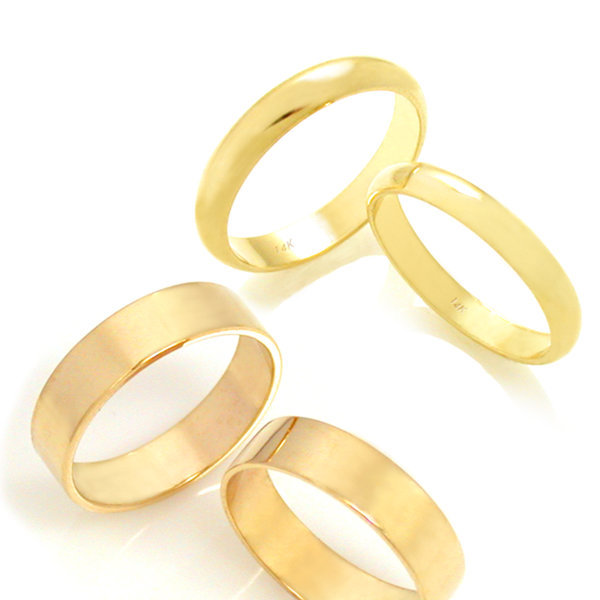 14K 18K 다이아몬드 반지 남자 여자 이니셜 단체 우정 상품이미지