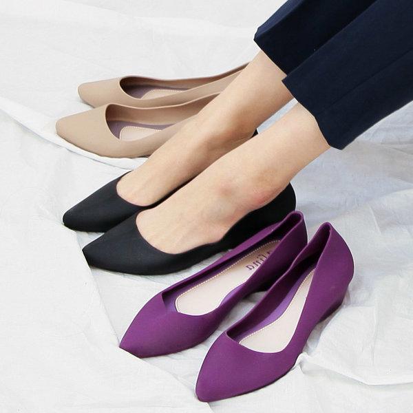 클린388 여성 아쿠아 플랫슈즈 단화 신발 상품이미지