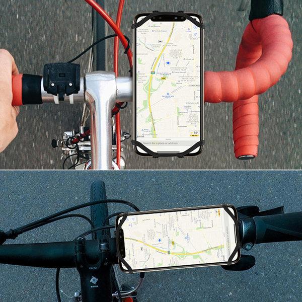 사이클 자전거 유모차 스마트폰 거치대  360도 회전 상품이미지