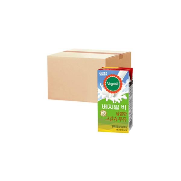 베지밀B 달콤한 고칼슘두유 190ml x48팩 상품이미지