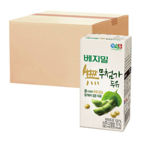 베지밀 무첨가두유 190ml x 48팩