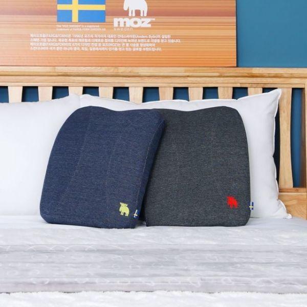 모즈 스웨덴 순면 메모리폼 허리 등받이 등쿠션 상품이미지