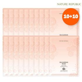 10+10 불가리안마스크팩/마스크시트 X2세트 (총 40매)
