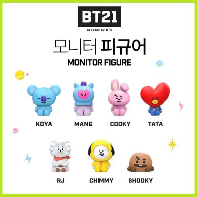[ROYCHE] UNIVERSTAR BT21 Monitor Figure