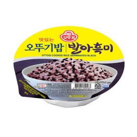 맛있는 오뚜기밥 발아흑미 210g 1박스(12개)