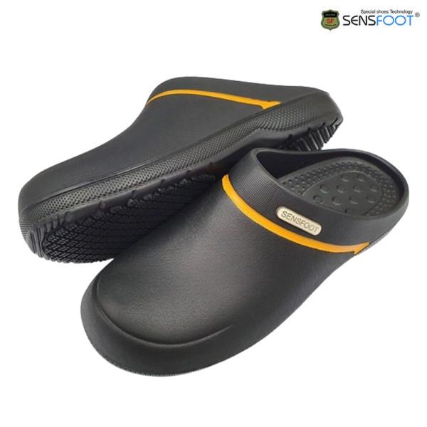 SW-062 블랙 미끄럼방지화 위생화 주방신발 조리화 상품이미지