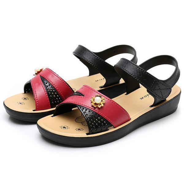 여성 샌들/효도화/플랫슈즈/신발 미끄럼 방지 상품이미지