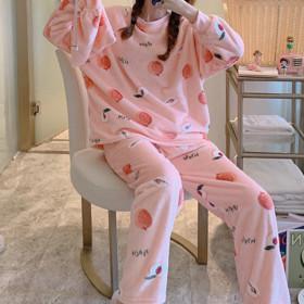 12%쿠폰 수맘 겨울 신상 수면 기모 홈웨어 잠옷 세트