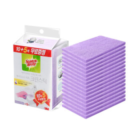 크린스틱 욕실청소 시트타입 베이킹소다톡톡10+5입 2개