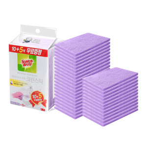 [3M]크린스틱 욕실청소 시트타입 베이킹소다 톡톡 10+5입
