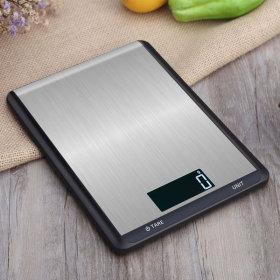 라온 디지털 주방저울 전자저울 계량/이유식/음식 블랙