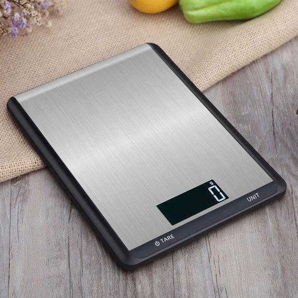 라온 디지털 주방저울 전자저울 계량/이유식/음식 블랙 상품이미지