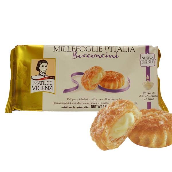 밀리포글리에 퍼프패스트리 밀크 크림맛 125g/간식 빵 상품이미지