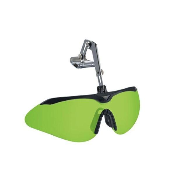 도수 안경 겸착용 헬멧 부착형 클립형 차광 보안경 상품이미지