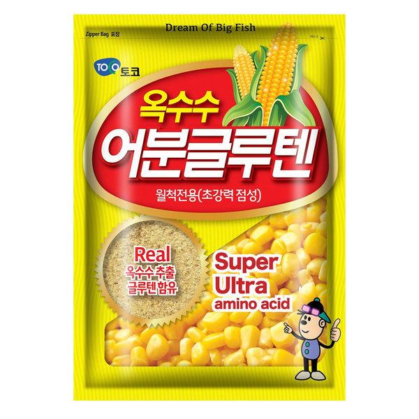 토코 옥수수 어분글루텐덕용 300g 민믈낚시 떡밥 미끼 상품이미지