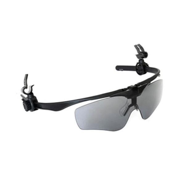 다크그레이 렌즈교환가능 자외선 차단 클립형보안경 상품이미지