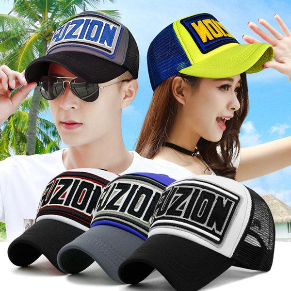 여성 여자 남성 남녀 공용 매쉬캡 망사 봄 여름 모자 상품이미지