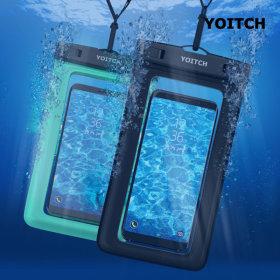 1+1 민트+블랙 핸드폰 휴대폰 방수팩레릭 10m 완전방수