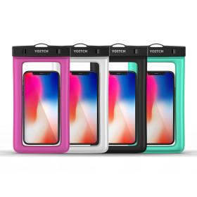 1+1 화이트+블랙 핸드폰 휴대폰 방수팩 레릭 10m방수