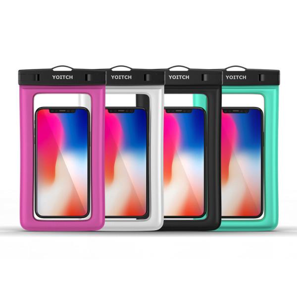 1+1 화이트+블랙 핸드폰 휴대폰 방수팩 레릭 10m방수 상품이미지