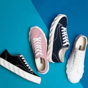 [에스앤알디]신발 남녀공용 커플 스니커즈 캔버스화 단화 SN538