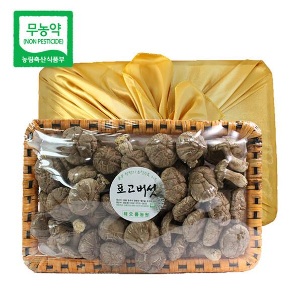 (현대Hmall) 친환경팔도 초정 무농약 건표고버섯 선물세트 300g(화고) 상품이미지