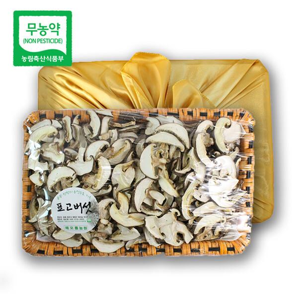 (현대Hmall) 친환경팔도 초정 무농약 건표고버섯 선물세트 300g(슬라이스) 상품이미지