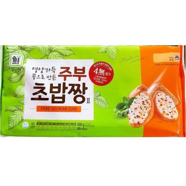 식재료 대림 주부 초밥유부 600g 상품이미지