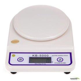 경인산업 디지털 전자저울 KB-5000/최대5Kg/주방저울