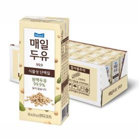 매일두유 99.89 190ml 24팩+황민현 포토카드 1개