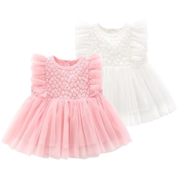 작은 꽃잎 아기 드레스(0-18개월) 203865 상품이미지