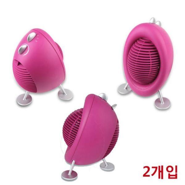 디자인 기능 저소음이 장점인 전기온풍기 X 2개입 상품이미지