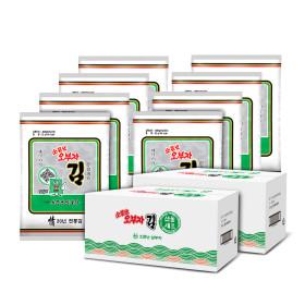 소문난오부자 전장김25g(8봉+8봉) 선물세트 실속형