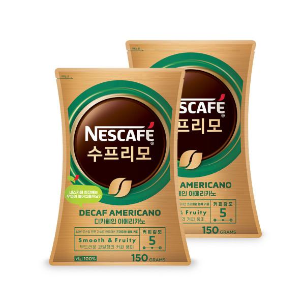 수프리모 디카페인 150g x 2봉/커피믹스 상품이미지